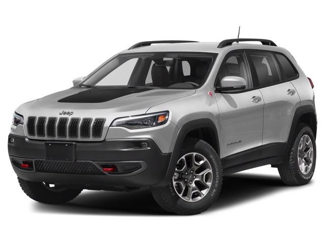 Used 2019 Jeep Cherokee Trailhawk with VIN 1C4PJMBX8KD395490 for sale in Two Harbors, Minnesota